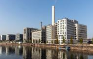 Moderne Architektur am Wasser Frankfurt - gratis Foto Download