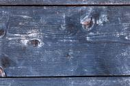 altes blaues Holz