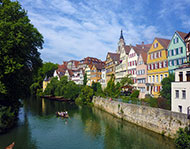 Tübingen am Neckar - gratis Foto zum Download | freestockgallery